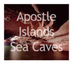 Apostle Islands Sea Caves Picture Gallery