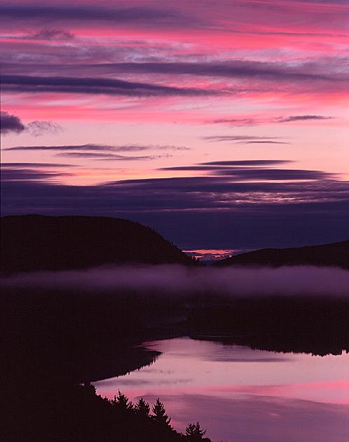 Purple Cloud Sunrise