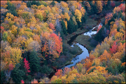 Fall Color, Lake of the Clouds, Upper Michigan